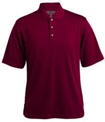 047300 Pebble Beach Mens Horizontal Texture Performance Polo