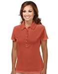 103 Stamina- Ladies UltraCool® Waffle Knit Polo