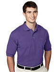 106 Image Mens Cotton/Poly Blend Pique Polo