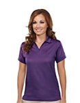 402 Aura Ladies UltraCool™ Jacquard Basket Pattern Polo