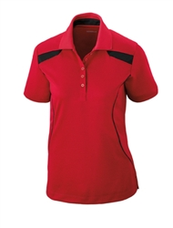 75112 Tempo Ladies Extreme Recycled Poly Performance Textured Polo