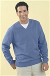 9180 Mens Clubhouse V-Neck Sweater