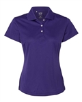 A131 adidas Golf Ladies' ClimaLite® Piqué  Polo