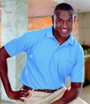 BG7206 Mens SuperBlend Pique Polo with Pocket