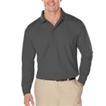 BG7225 NEW Mens Long Sleeve Snag Resistant Wicking Polo
