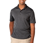 BG7229 Men's Heather Moisture Wicking Polo