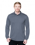 K020LS Vital L/S Mens Performance Value Polo