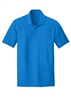 K100P Port Authority® Mens Pocket Core Classic Pique Polo