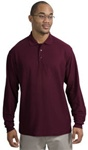 K500LS Mens Silk Touch L/S Sport Shirt