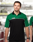 K908 Heel-Toe Mens Color Block Polo
