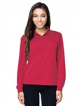 KL020LS Vital Ladies L/S Performance Value Polo