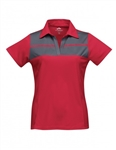 KL025 Lady Streak UltraCool® Mini Pique Polo
