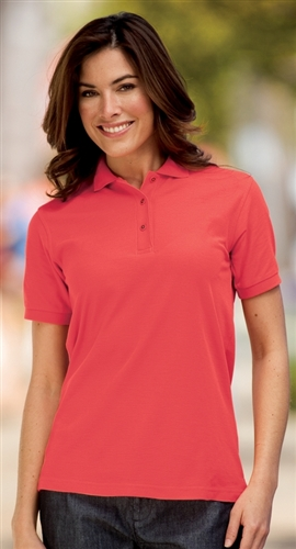 f600a7ce L03500 Port Authority Ladies Silk Touch Polo