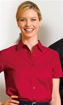 L508 Ladies S/S Easy Care Shirt