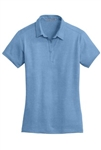 L577 Port Authority® Ladies Meridian Cotton Blend Polo.