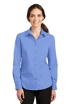 L663 Port Authority® Ladies SuperPro™ Twill Shirt