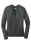 LK5431  Port Authority® Ladies Concept Bomber Cardigan