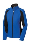 LST970 Sport-Tek® Ladies Colorblock Soft Shell Jacket
