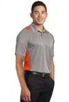 ST665 Sport-Tek® Heather Colorblock Contender™ Polo