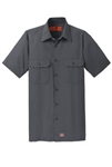 SY60 Red Kap® Short Sleeve Solid Ripstop Shirt