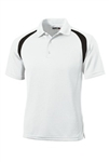 T476 Sport-Tek® Dry Zone® Colorblock Raglan Polo
