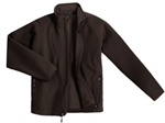 TLJ705 Mens Tall Textured Soft Shell Jacket