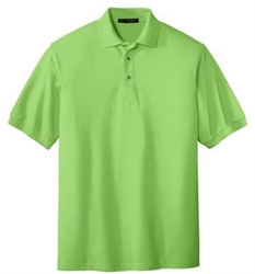 TLK500 Silk Touch Mens Tall Poly/Cotton Blend Polo