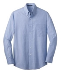 TLS640 Mens' TALL Crosshatch Easy Care Shirt